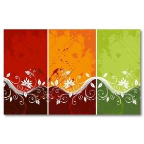 Αφίσα (αφηρημένο, πολύχρωμο, σχήματα, γραμμές, χρώματα)